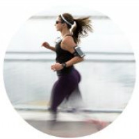 Running - 8 mph