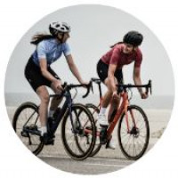 Cycling 14 mph