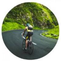 Cycling 18 mph